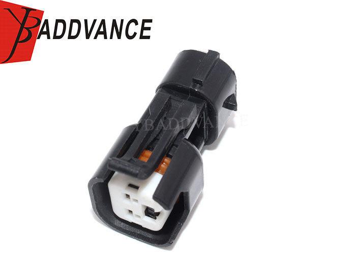 Black Fuel Injector Adapter Ev6 Ev14 Female To Nippon